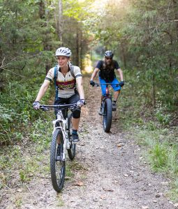 Lake leatherwood mountain biking