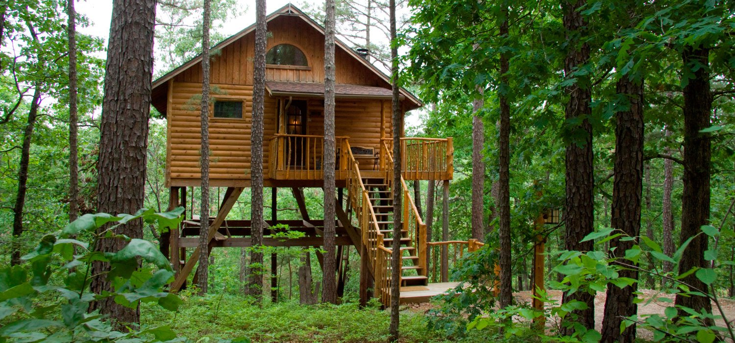 Treehouse Cottages Eureka Springs Arkansas The