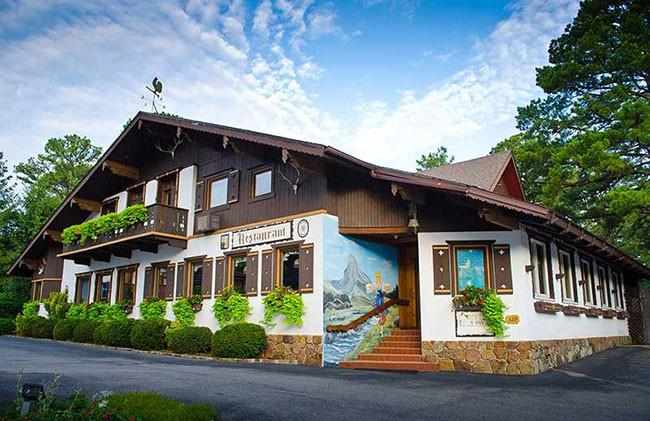 Bavarian Inn Restaurant Eureka Springs Arkansas The