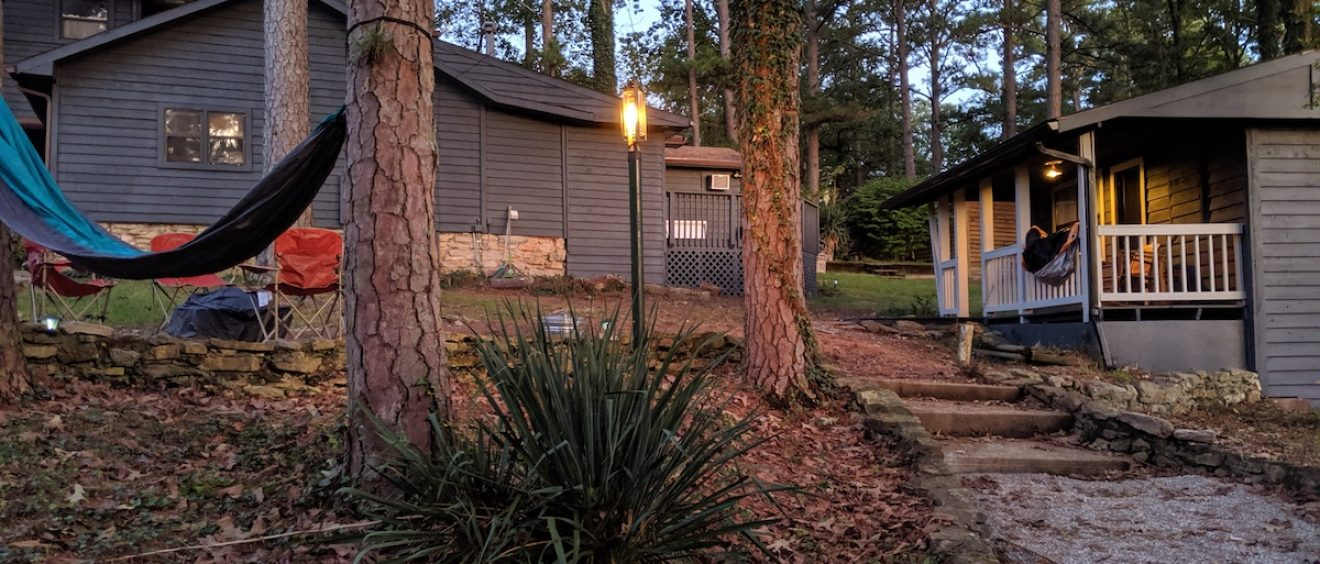 Loblolly Pines entrance path image
