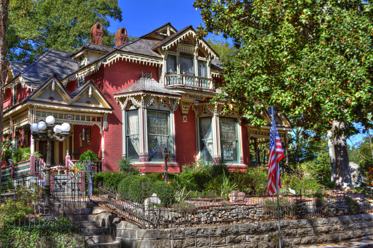 The Rosalie Wedding & Tour Home - Eureka Springs, Arkansas ...