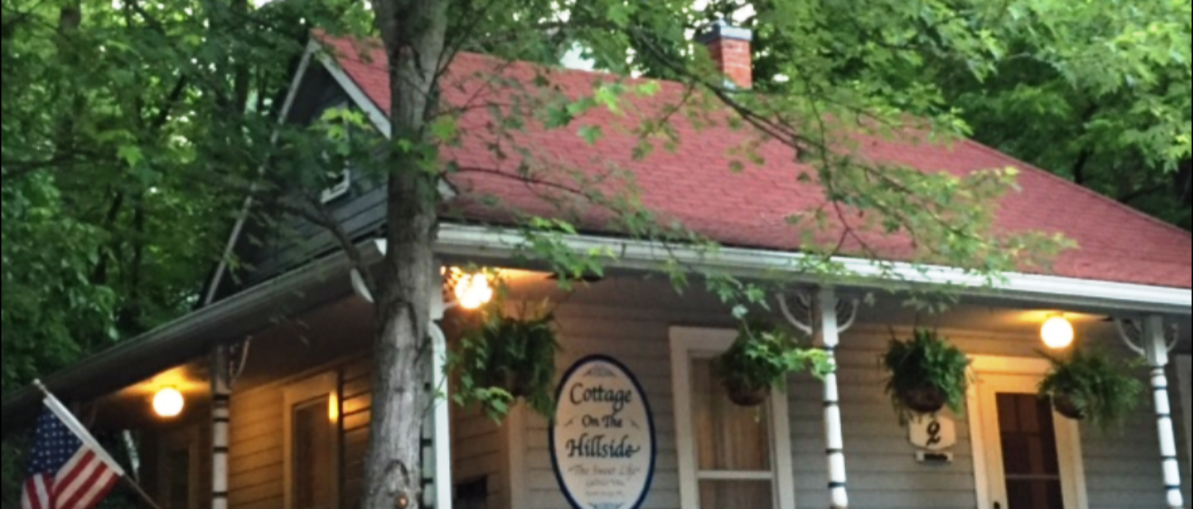 cottage on the hillside eureka springs arkansas the