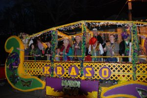 Eureka Gras Night Parade