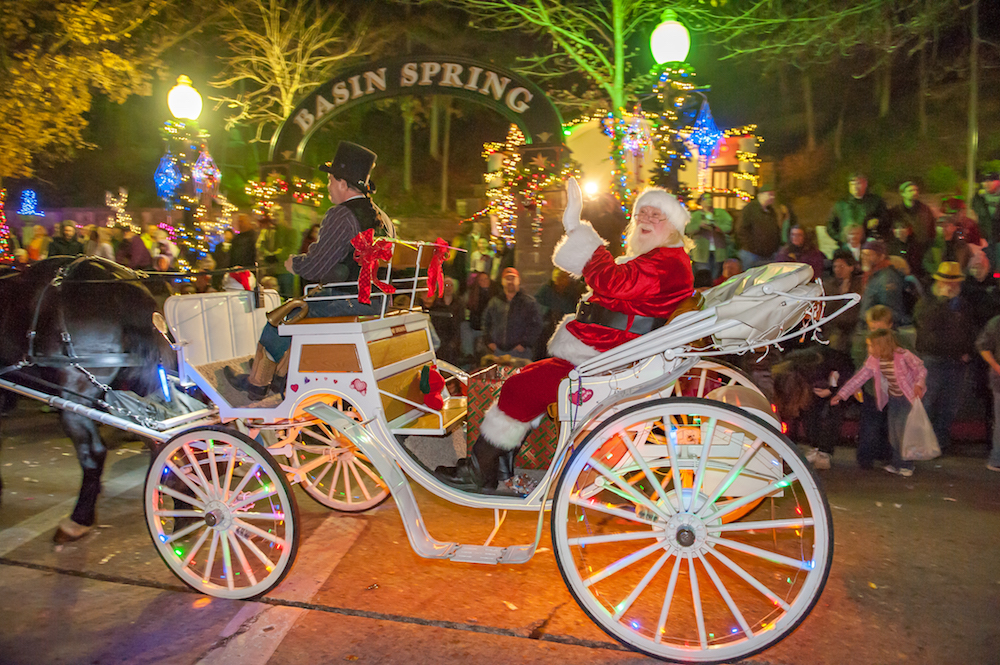 Eureka Springs Christmas Parade of Lights