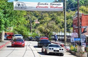 Corvette Weekend in Eureka Springs