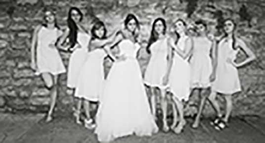 Wedding Party in Eureka Springs