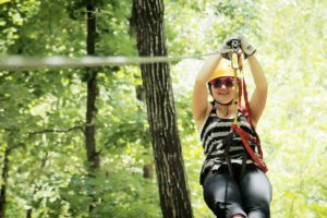 Zip Line in Eureka Springs