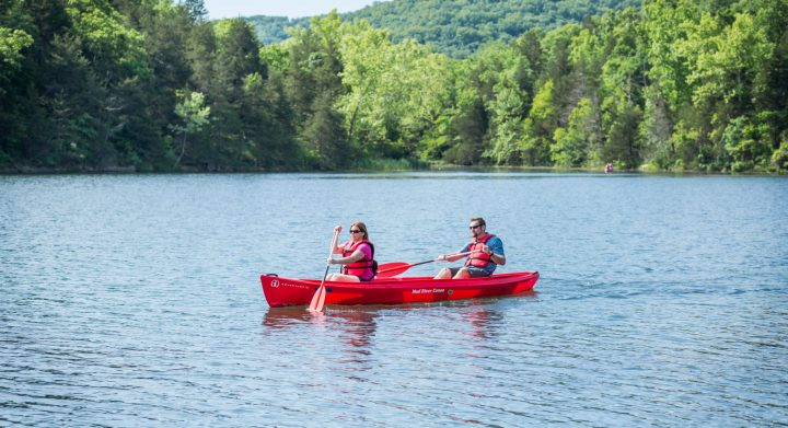 Lake Leatherwood Kayak