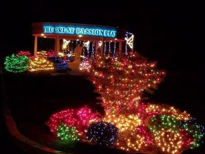 Drive Through Christmas Lights Passion Play Grounds