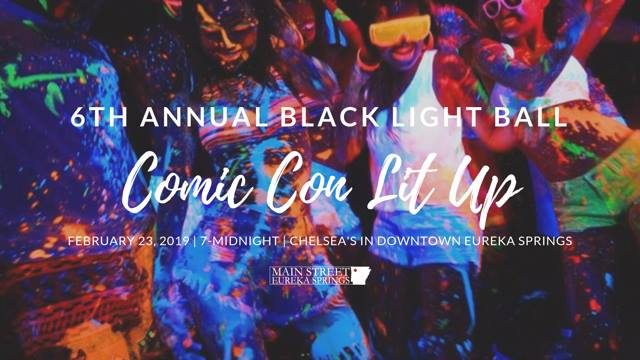 6th Annual Black Light Ball