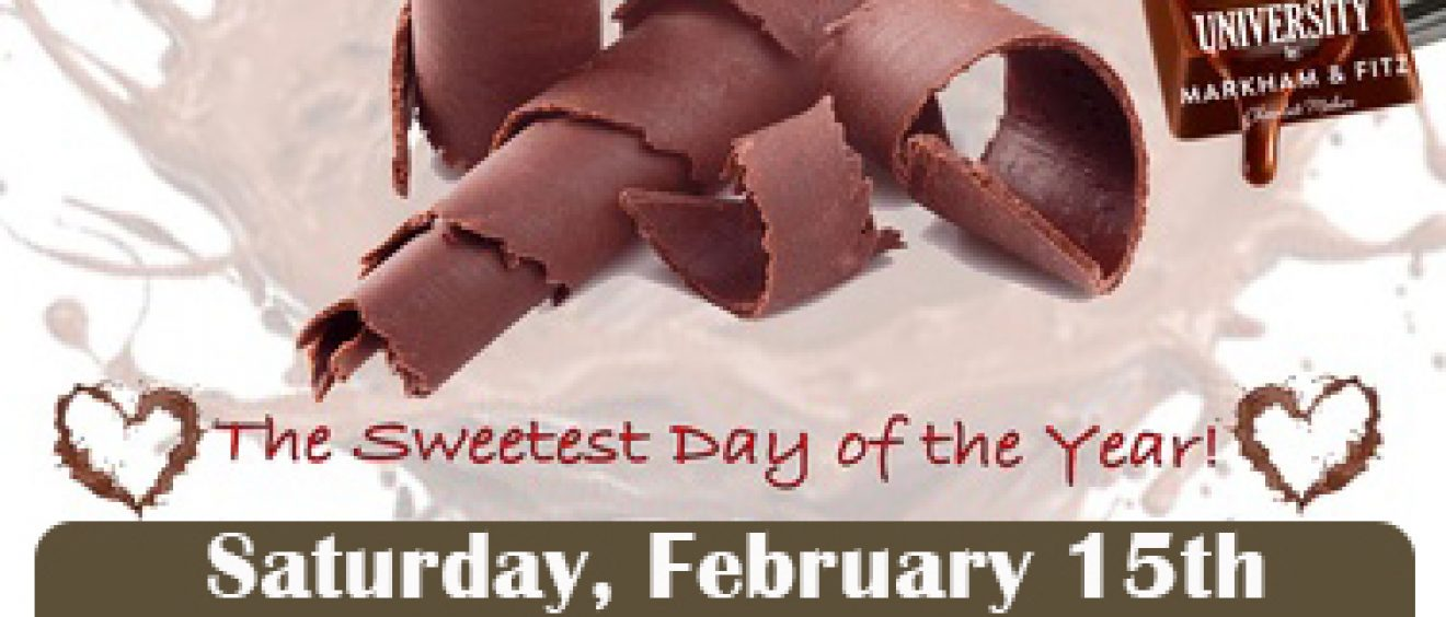 Eureka Springs Chocolate Festival Sat February 15 from 10am to 3pm
