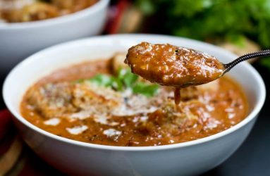 Bowl of soup from Creekside image