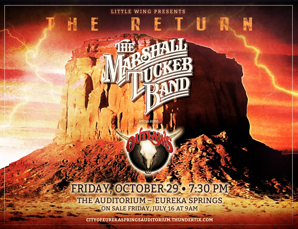 THE RETURN: The Marshall Tucker Band with special guest Outlaws