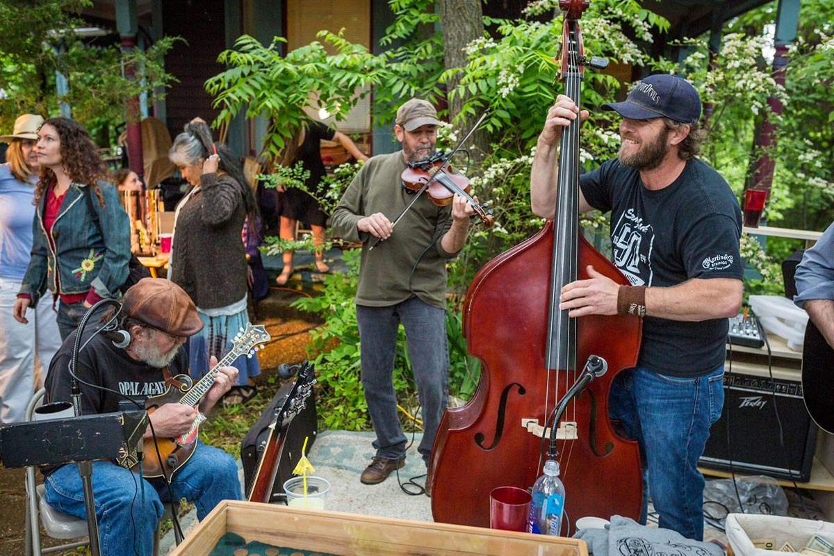 Hillberry Bluegrass and Jamgrass in Eureka Springs